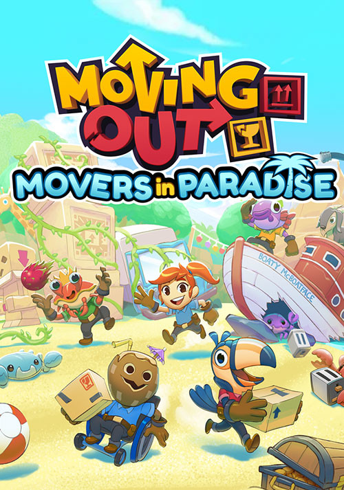 Moving Out - Movers in Paradise - Cover / Packshot