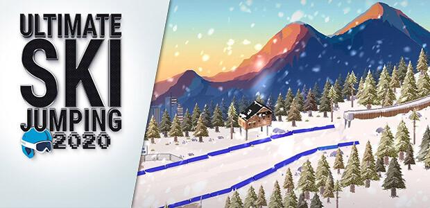 Ultimate Ski Jumping 2020 - Cover / Packshot