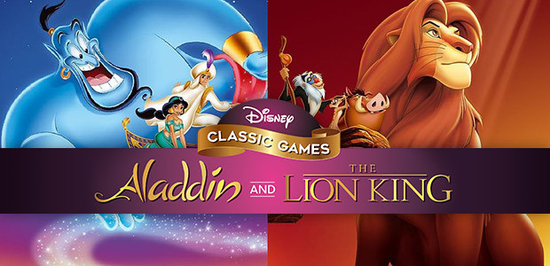 Disney Classic Games: Aladdin and The Lion King  - Cover / Packshot