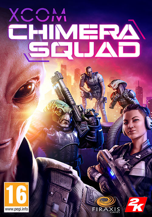 XCOM: Chimera Squad - Cover / Packshot