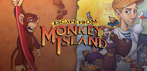 Escape from Monkey Island - Cover / Packshot