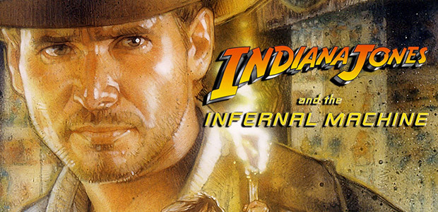 Indiana Jones® and the Infernal Machine™ - Cover / Packshot