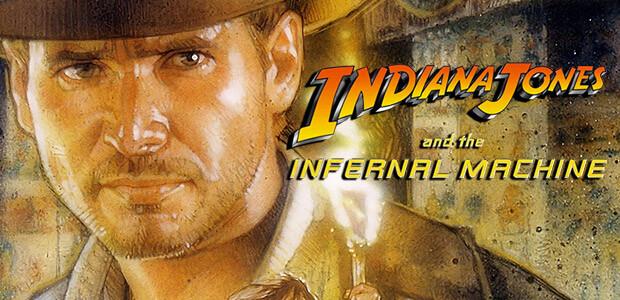 Indiana Jones® and the Infernal Machine™ - Cover / Packshot