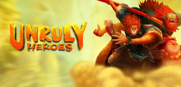 Unruly Heroes - Cover / Packshot