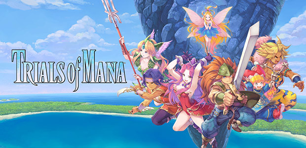 Trials of Mana - Cover / Packshot