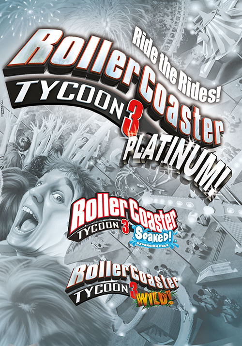 RollerCoaster Tycoon 3: Platinum - Cover / Packshot