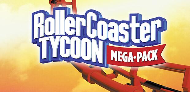RollerCoaster Tycoon Mega Pack - Cover / Packshot