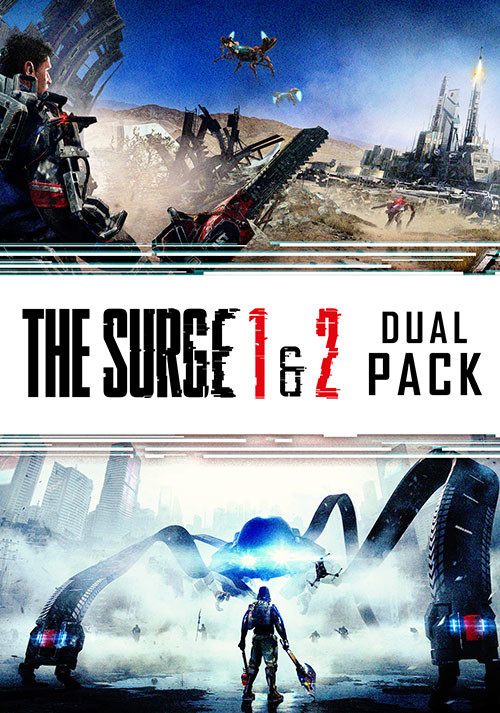 The Surge 1 & 2 Dual Pack - Cover / Packshot