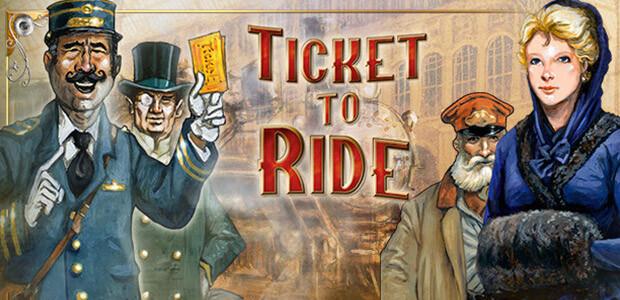Ticket to Ride - Les Aventuriers du Rail - Cover / Packshot