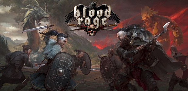 Blood Rage: Digital Edition - Cover / Packshot