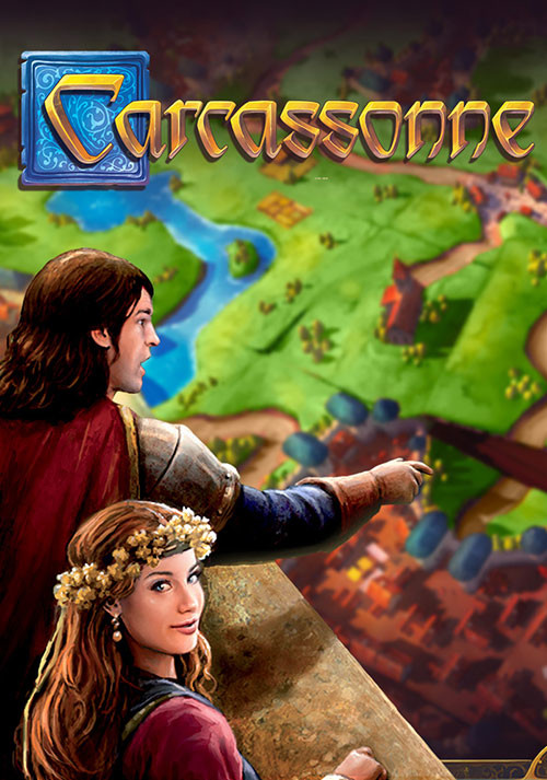 Carcassonne - Tiles & Tactics - Cover / Packshot