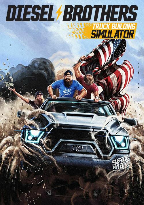 Diesel Brothers: Truck Building Simulator - Cover / Packshot