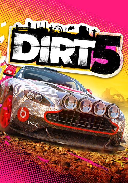DIRT 5 - Cover / Packshot