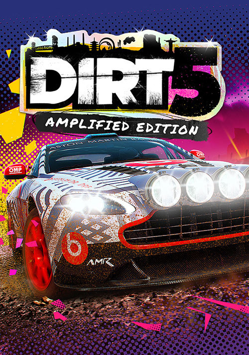DIRT 5 Amplified Edition - Cover / Packshot