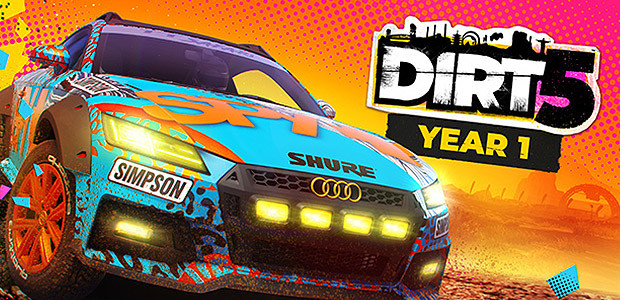 DIRT 5 - Year One Edition - Cover / Packshot