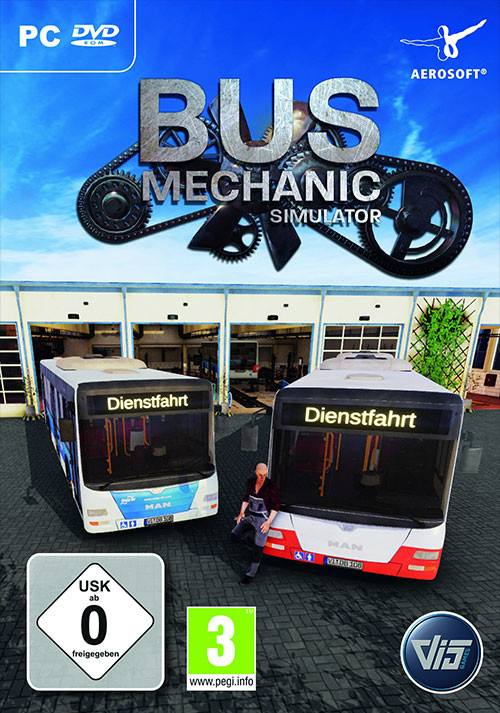 Bus Mechanic Simulator - Cover / Packshot