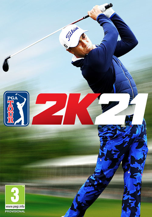 PGA TOUR 2K21 - Cover / Packshot