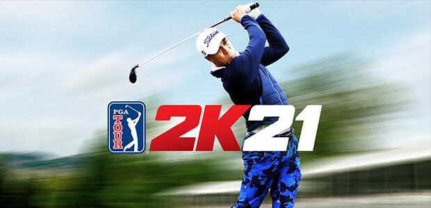 PGA TOUR 2K21 - Cover / Packshot