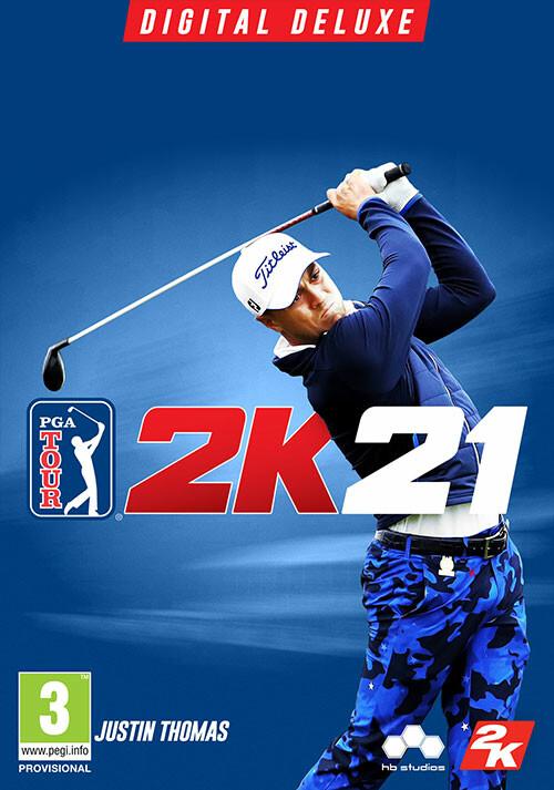 PGA TOUR 2K21 Digital Deluxe Edition - Cover / Packshot