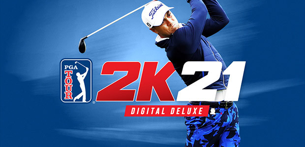 PGA TOUR 2K21 Digital Deluxe Edition - Cover / Packshot
