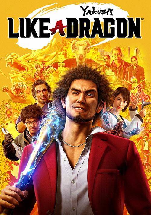 Yakuza: Like a Dragon - Cover / Packshot