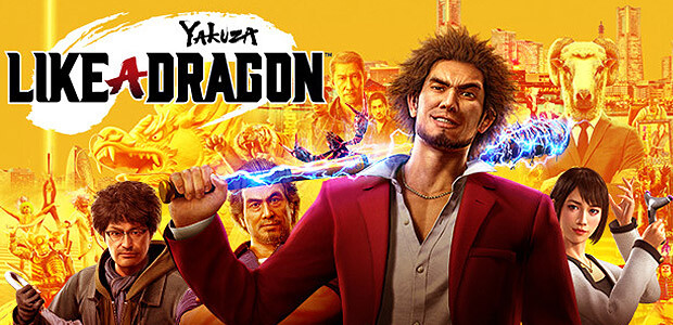 Yakuza: Like a Dragon - Cover / Packshot