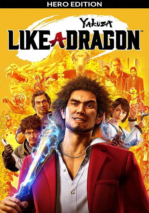 Yakuza: Like a Dragon - Hero Edition - Cover / Packshot