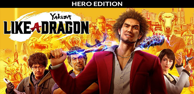 Yakuza: Like a Dragon - Hero Edition - Cover / Packshot
