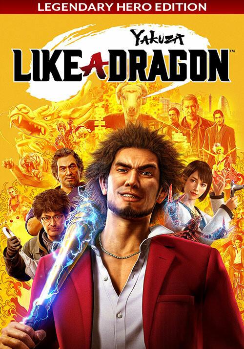 Yakuza: Like a Dragon - Legendary Hero Edition - Cover / Packshot