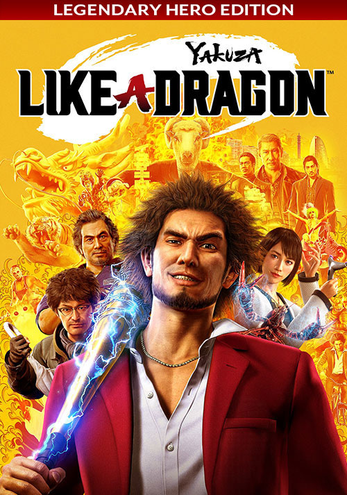 Yakuza: Like a Dragon - Legendary Hero Edition - Cover / Packshot
