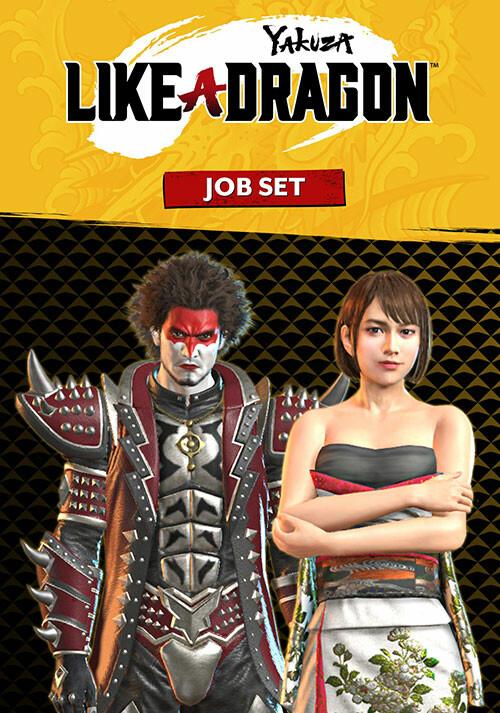 Yakuza: Like a Dragon Job Set - Cover / Packshot