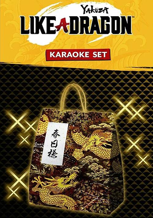 Yakuza: Like a Dragon Karaoke Set - Cover / Packshot