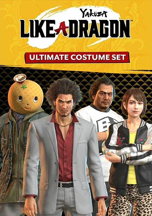 Yakuza: Like a Dragon Ultimate Costume Set - Cover / Packshot