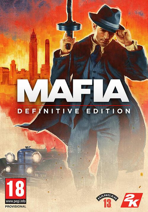 Mafia: Definitive Edition - Cover / Packshot