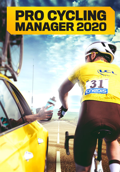 Pro Cycling Manager 2020 - Cover / Packshot