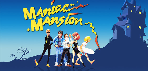 Maniac Mansion - Cover / Packshot