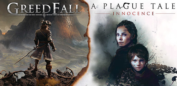 GreedFall & A Plague Tale: Innocence Bundle - Cover / Packshot