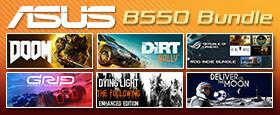 ASUS B550 Game Bundle