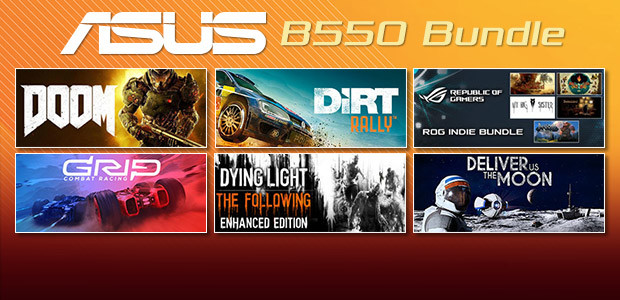 ASUS B550 Game Bundle