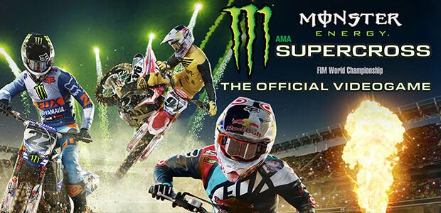 Monster Energy Supercross - The Official Videogame - Cover / Packshot