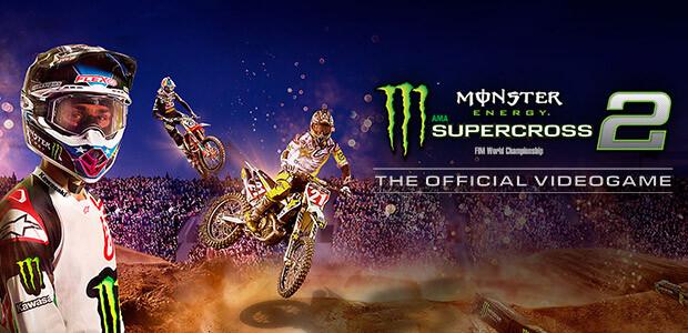 Monster Energy Supercross - The Official Videogame 2 - Cover / Packshot