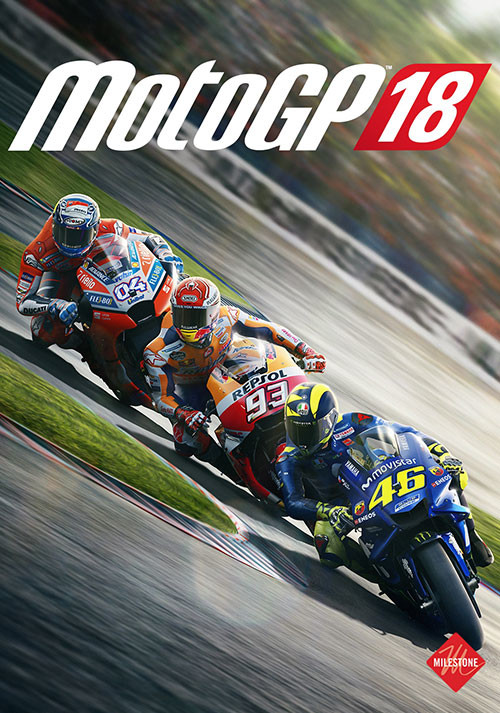 MotoGP™18 - Cover / Packshot