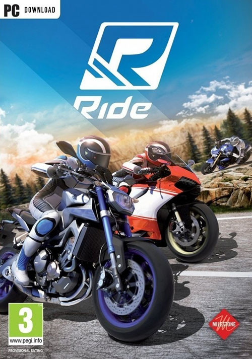 RIDE - Cover / Packshot