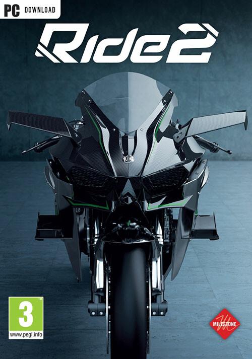 RIDE 2 - Cover / Packshot