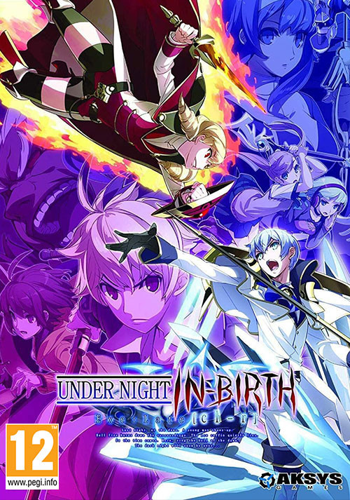 UNDER NIGHT IN-BIRTH Exe:Late[cl-r] - Cover / Packshot