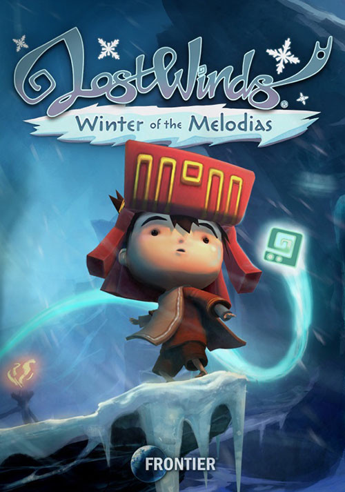 LostWinds 2: Winter of the Melodias - Cover / Packshot
