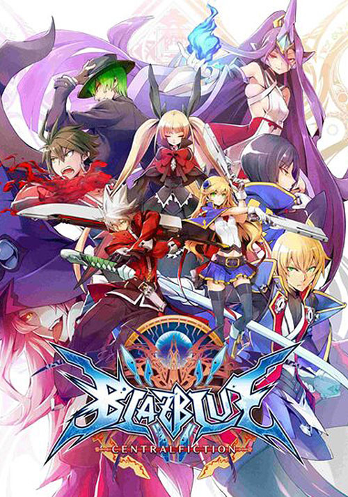 BlazBlue Centralfiction - Cover / Packshot