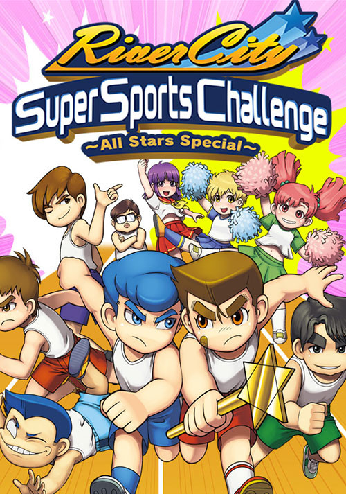 River City Super Sports Challenge ~All Stars Special~ - Cover / Packshot