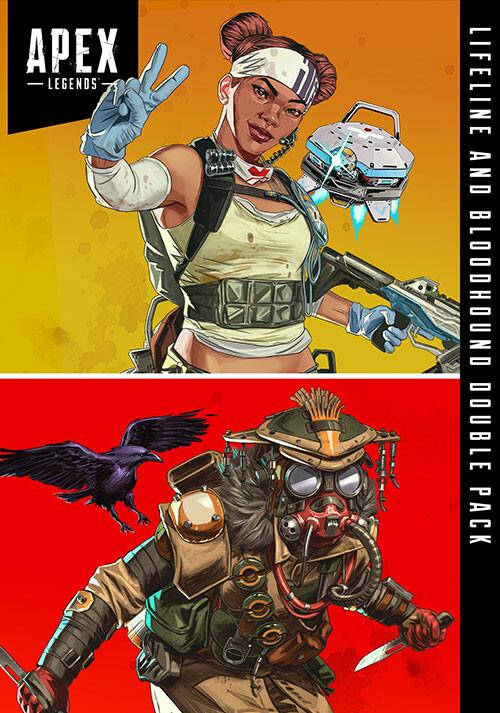 Apex Legends™ - Lifeline & Bloodhound-Doppelpack  - Cover / Packshot