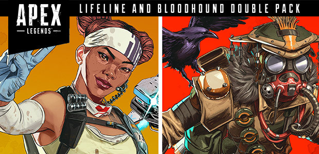 Apex Legends™ - Double Pack Lifeline et Bloodhound  - Cover / Packshot